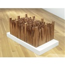 Ursula von Rydingsvard, The song of the saint (in 6 parts)