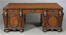After Thomas Chippendale, Pedestal desk