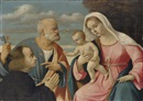 Girolamo da Santacroce, The Madonna and Child with Saint Peter and a donor