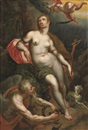 Jacob de Backer, An allegory of Time releasing Faith