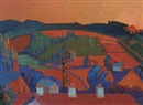 John Jobson, Sunset, Avoca, Co. Wicklow