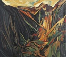 Michael Ashcroft, David Bomberg, Valley of La Hermida, Picos, 1935