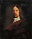 Anglo-Dutch School (17), Portrait of a gentleman with a brown cloak