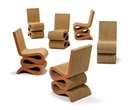 Frank Gehry, Wiggle side chairs (set of 6)
