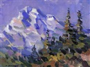 Fred Cameron, Mountain and trees