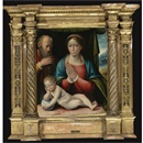Giacomo Raibolini, The Madonna and Child with Saint Joseph