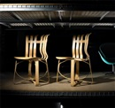 Frank Gehry, Hat Trick chairs (pair)