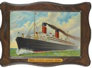 After Fred Pansing, Cunard Steamers, Carmania - Caronia