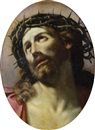 Attributed To Domenico Maria Canuti, Le Christ à la couronne d'épines
