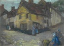 David Alison, A Breton village