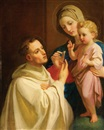 Melchior Paul von Deschwanden, The Virgin and Child with St. Bernard