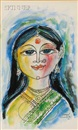 Laxman Pai, Woman with bird