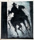 Richard Hambleton, Untitled, shadow cowboy