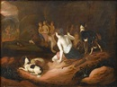 Adriaen Beeldemaker, Diana and Actaeon