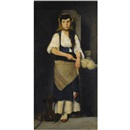 Polychronis Lembessis, Girl with distaff and spindle