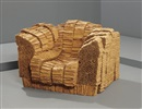 Frank Gehry, Grandpa beaver chair (from Experimental edges series)