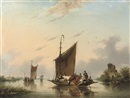 Gerardus Hendriks, The ferry crossing
