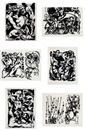 Jackson Pollock, Numbers 1091 -P27- to 1096 -p32 (6 works)