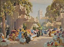 John Littlejohns, The flower market, nice