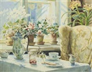 Olga Aleksandrovna (Princess of Storfyrstinde), The breakfast table