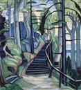 Marion Mildred Dale Scott, Forest stairway (Cliff path)