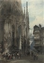 Paul Marny, Saint Maclou Fountain Rouen