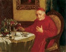 Theodor Recknagel, The cardinal's lunch
