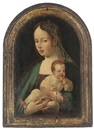 Follower Of Jan van Scorel, The Virgin and Child