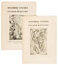 Vladimir Tatlin, Noveishie techeniya v Russkom Iskusstve (New trends in Russian Art)(2 works)