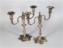 J.B. Chatterly & Sons, Candelabra (+ another; pair)