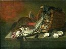 Attributed To Willem Ormea, Nature morte aux poissons