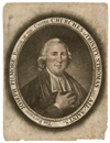 Charles Willson Peale, The Reverend Joseph Pilmore Rector of the United Churches of Trinity