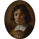 Attributed To Giovanni Mannozzi, Portrait of a boy in brown
