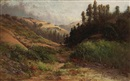 Thomas Henry Rabjohn, Rolling hills, thought to be Marin County