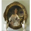 After Franz Xaver Winterhalter, Portrait of the duchess Victoria of Nemours