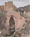 Paul Jean Anderbouhr, Les remparts de Marrakech