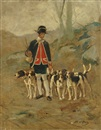 Jean Victor Albert de Gesne, Setting out for the hunt