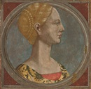 Follower Of Piero Pollaiuolo, Head of a lady