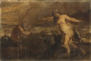 Attributed To Theodor van Thulden, Glaucus and Scylla