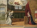 Girolamo da Santacroce, The Annunciation