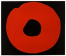 Jiro Yoshiwara, Red circle on black