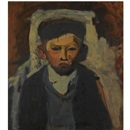 Joan Kathleen Harding Eardley, Boy in a cap