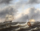 Govert van Emmerik, Ships in choppy waters