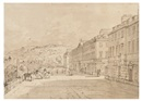 John Claude Nattes, North Parade, Bath