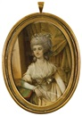 John Bogle, Portrait miniature of Fanny Burney