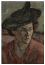Samuel Brecher, Woman in a hat