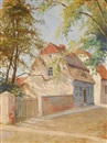 Ludwig Julius Christian Dettmann, Houses in Leba