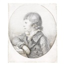 Anton Graff, Half-length portrait of a young boy (Wilhelm Chodowiecki son of the artist Daniel?)