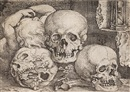 Barthel Beham, Child with three skulls (2 works)