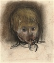 Joan Kathleen Harding Eardley, Study of a young girl